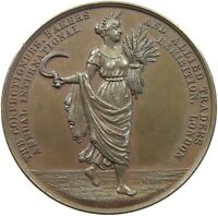 GREAT BRITAIN MEDAL EXHIBITION LONDON W.MOORE LIVERPOOL 49MM 55G #s11 027
