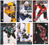2015-16 Upper Deck Series One Hockey - Base Cards - Choose Card #'s 1-200