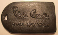 Vintage Pierre Cardin Vinyl Luggage Suitcase Tag