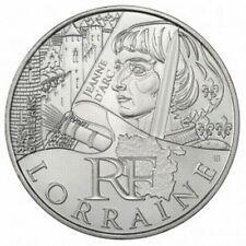 Pièce de 10 euros en argent de la région Lorraine - Euro des régions 2012