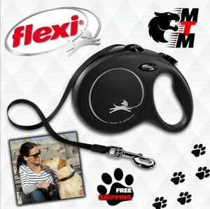 FLEXI Retractable Extending Dog Lead Reflective Cord / Tape All Sizes COLOURS!!