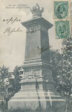 MONTREAL QC – Monument Jacques Cartier - 1906