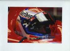 Marc Gene Ferrari F1 pruebas retrato 2006 Firmado fotografía 4