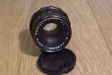 Mamiya Sekor SX f2.0 50mm Prime Lens - M42 Mount