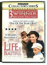 Life Is Beautiful Dvd widescreen Brand New (Roberto Benigni)