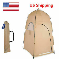 1-2 Person Portable Pop-Up Toilet Shower Tent Changing Room Camping Shelter USA