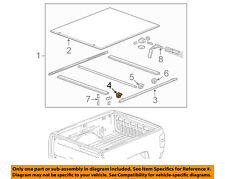GM OEM Pick Up Box Bed-Exterior Side Rail Clamp 22878355