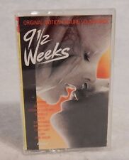 9 1/2 Weeks by Original Soundtrack Cassette Joe Cocker, Corey Heart, Devo