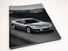 2001 Chrysler Sebring Coupe LX LXi Limited Brochure