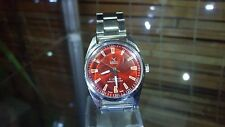 CAMY GENEVE Swiss Vintage Wrist Watch Classic Red Dial