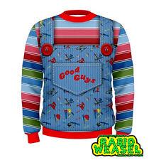 Good Guys Chucky Sweatshirt Replica Costume Halloween