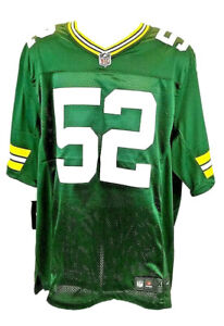 Nike Green Bay Packers Clay Matthews Authentic Jersey Mens Sz XL