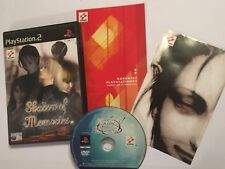 PLAYSTATION 2 PS2 KONAMI GAME SHADOW OF MEMORIES +BOX +INSTRUCTIONS COMPLETE PAL