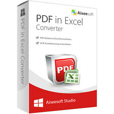 PDF in Excel Converter Win Aiseesoft DT. Full Version-Lifetime License Download