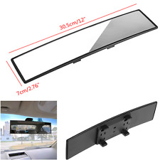 Universal JDM 300mm Wide Convex Curve Clip-On Panoramic Auto Rear View Mirror