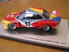 BMW Art Car 3.0 CSL Le Mans 1975 - Alexander Calder