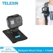 TELESIN Strap Shoulder Backpack Mount fixed For GoPro &Other Action Camera