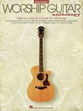 THE WORSHIP GUITAR ANTHOLOGY VOL 1: 100+ SONGS SHEET MUSIC SONG BOOK