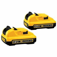 DEWALT DCB127-2 12-Volt Max Lithium-Ion Battery Pack (2-Pack)
