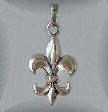 Französische Lilie Anhänger ... Silber 925 .... hochwertige Qualität