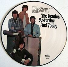"""Beatles - Yesterday And Today - 12"""" Picture Disc LP - Butcher - NEW"""