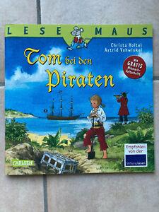 """LESEMAUS """"Tom bei den Piraten"""", neu"""