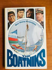 "Walt Disney Productions ""The Boatniks"" 1970 Vintage Scholastic Paperback 1St"