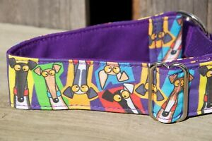 """1.5"""" Inch Martingale, Whippet, Small greyhound collar. Rich Skipworth"""