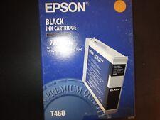 New Genuine Epson T460 T4600 Black Ink Cartridge Fits Stylus Pro 7000