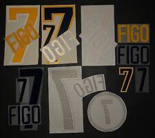 FIGO KIT-NOMI-NUMERI MISTI UFFICIALI HOME/AWAY 1998-2002 OFFICIAL MIX ITEMS