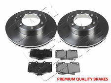 FOR TOYOTA HILUX SURF 08/1991- FRONT BRAKE DISC DISCS PADS LN130 LN131 KZN130
