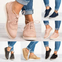 Damen Halbschuhe Brogue Schn¡§1rschuhe Freizeitschuhe Flache Sneakers Schuhe