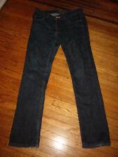 "$249 ACNE HEX DC Dark Denim Skinny Jeans 30 X 32 actual waist 31"" THE BEST!"