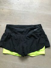 Nike Dri-fit Womens Running Shorts Black Size M