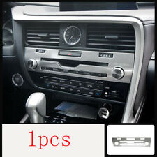 For Lexus RX300 200T 450H 16-20 Silver Car Volume Switch Button Panel Cover Trim