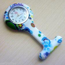 "Nurses Fob Watch Funky New Design Quality Watch Australian Stock ""60's Pattern"""