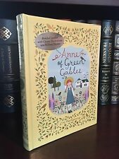 ANNE OF GREEN GABLES by L. M. MONTGOMERY Illustrated, Leatherbound & BRAND NEW!