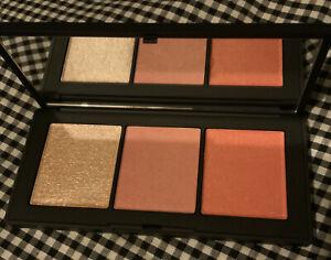 NARS ORGASM X Cheek 3 Pan Palette Blush & Highlight 3 x 3.3g Each NIB