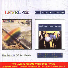 LEVEL 42 Pursuit of Accidents/Standing in Light (2CD 2000 Polydor) LIKE NEW RARE
