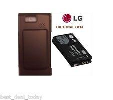 OEM LG Extended Life Battery And Door For Versa VX9600 LGIP-930B Verizon 1500MAH