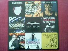"DAVID GUETTA - CD PROMO 10 TITRES ""SEAT IBIZA"""