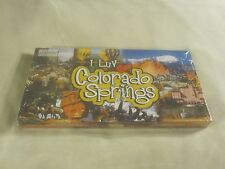I Luv Colorado Springs Real Estate Trading Board Game New Sealed ~ 2706
