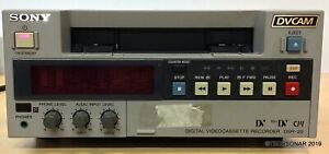 Sony DSR-20 DVCAM / DV / MiniDV VTR Player/Recorder MADE IN JAPAN.