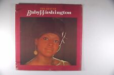 BABY WASHINGTON The Best of SOUL LP Sealed COLLECTABLES Jeanette