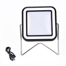 Foco Farol Solar Recargable USB 30 LED Con Soporte Panel Solar