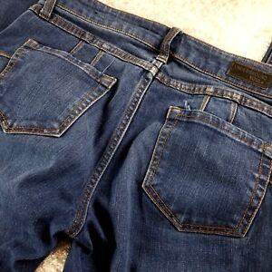 Underground Soul women's blue super skinny high waist jeans SIZE 7 stretchy (R)