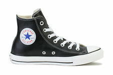 Converse Chuck Taylor All Star Leather Hi Black (132170C)
