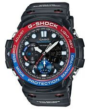Casio G-Shock Gulfmaster Analogue/Digital Mens Twin Sensor Black Watch GN1000-1A