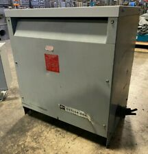 Cutler-Hammer 6-53312-3 Transformer 30 KVA 480▲ HV 208/120 LV Three Phase