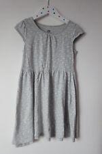1890 :robe grise à pois 6ans 8 ans H&M ebondy